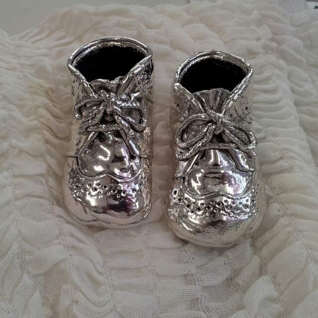 zapatos bañados