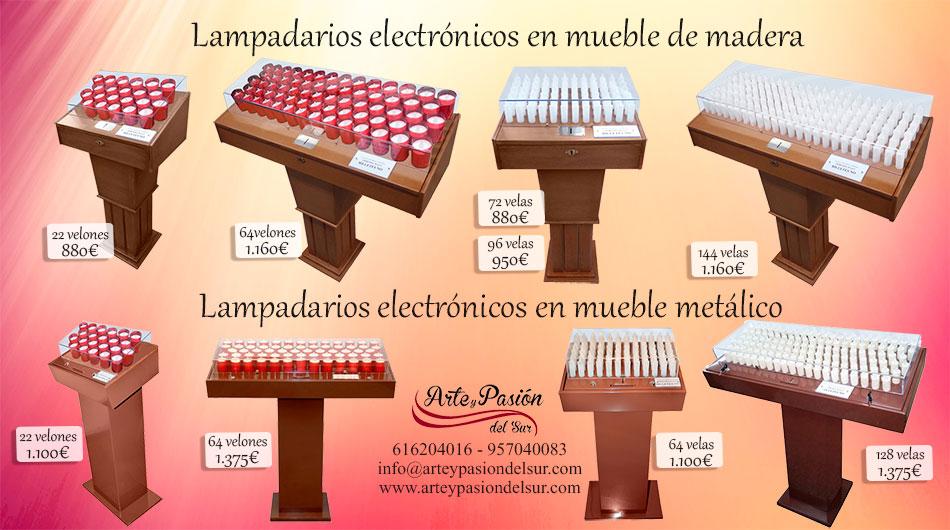 lampadarios electronicos
