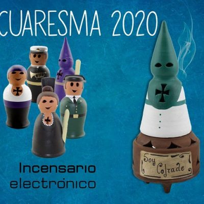 incensario electronico cuaresma 2020